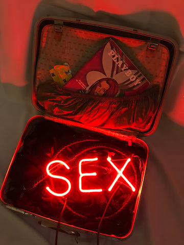 "Indira Cessarine, ""SEX in a Suitcase"""