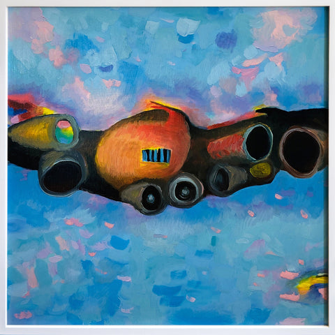 "Anne Spalter, ""Engine City"" SOLD"
