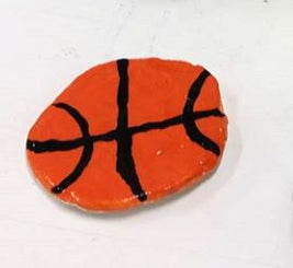 "Anthony Iacomella, ""Basketball"" SOLD"