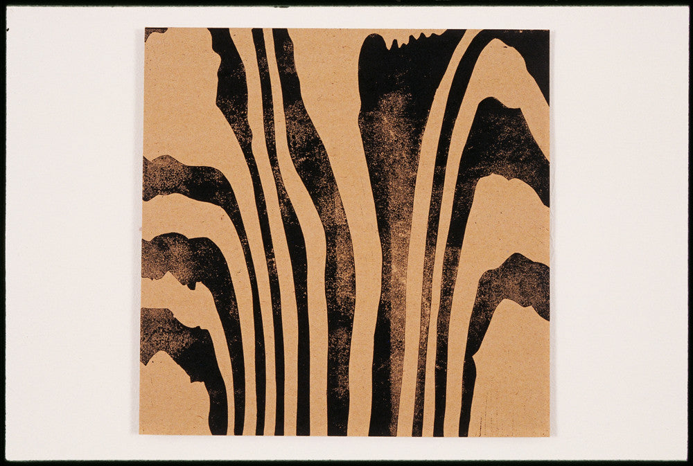 "Brigitte Engler, ""Wood block ( To )"""