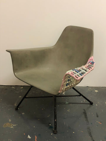 "Corey Escoto, ""Concrete Chair"""
