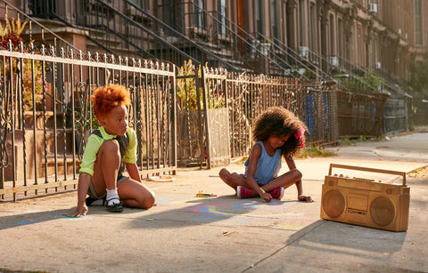 "Justin Bettman, ""The Stoop, girls"""