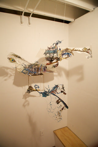 "Shiri Mordechay, ""untitled (blue dragon)"""