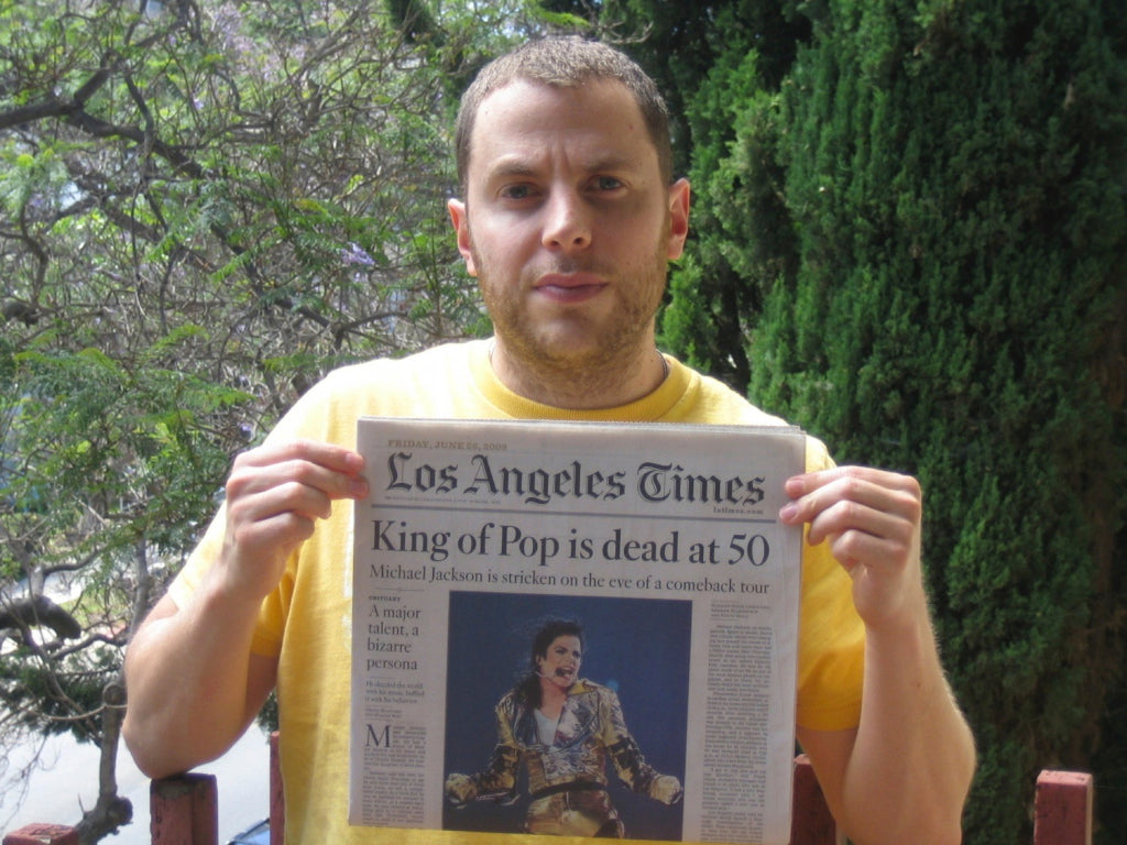"Shony Rivnay, ""King of Pop is Dead at 50, Los Angeles Times, 2009"""