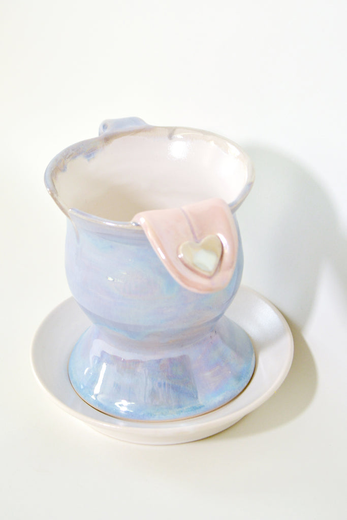 "Jen Dwyer, ""Yes, Maybe (Tea Cup no. 1)"""