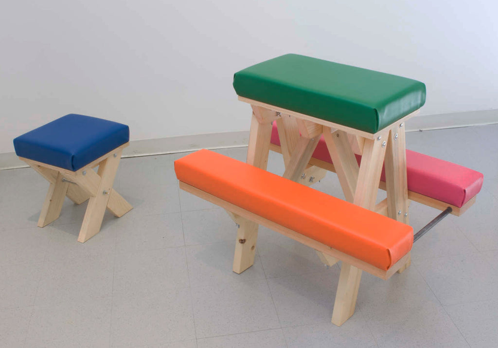 "Anthony Viti, ""Work Out Bench"""