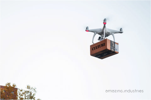 "Brett Wallace, ""Amazing Industries Drone Delivery"""