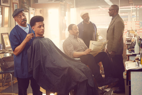 "Justin Bettman, ""The Barbershop"""