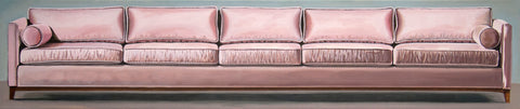 "Iva Kinnaird, ""Pink Couch"" SOLD"
