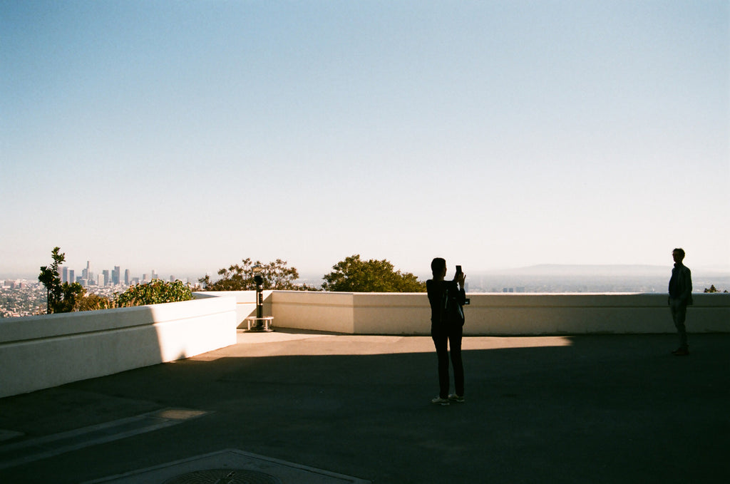 "Andrew Gori + Ambre Kelly, ""Couple-Griffith Observatory, Los Angeles"""
