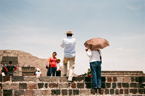 "Andrew Gori + Ambre Kelly, ""Family-Teotihuacan, Mexico"""