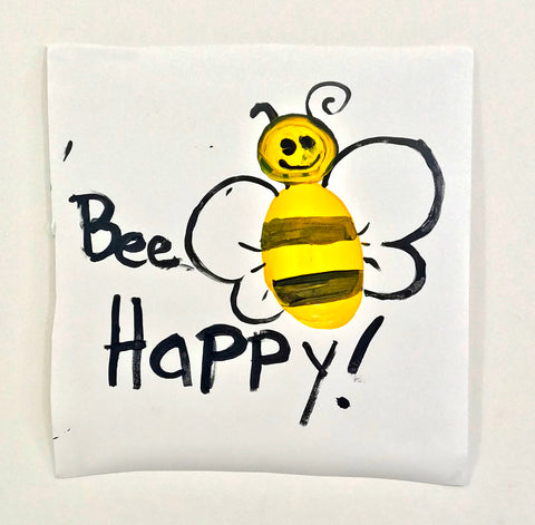 "Alison Woods, ""Bee Happy"""