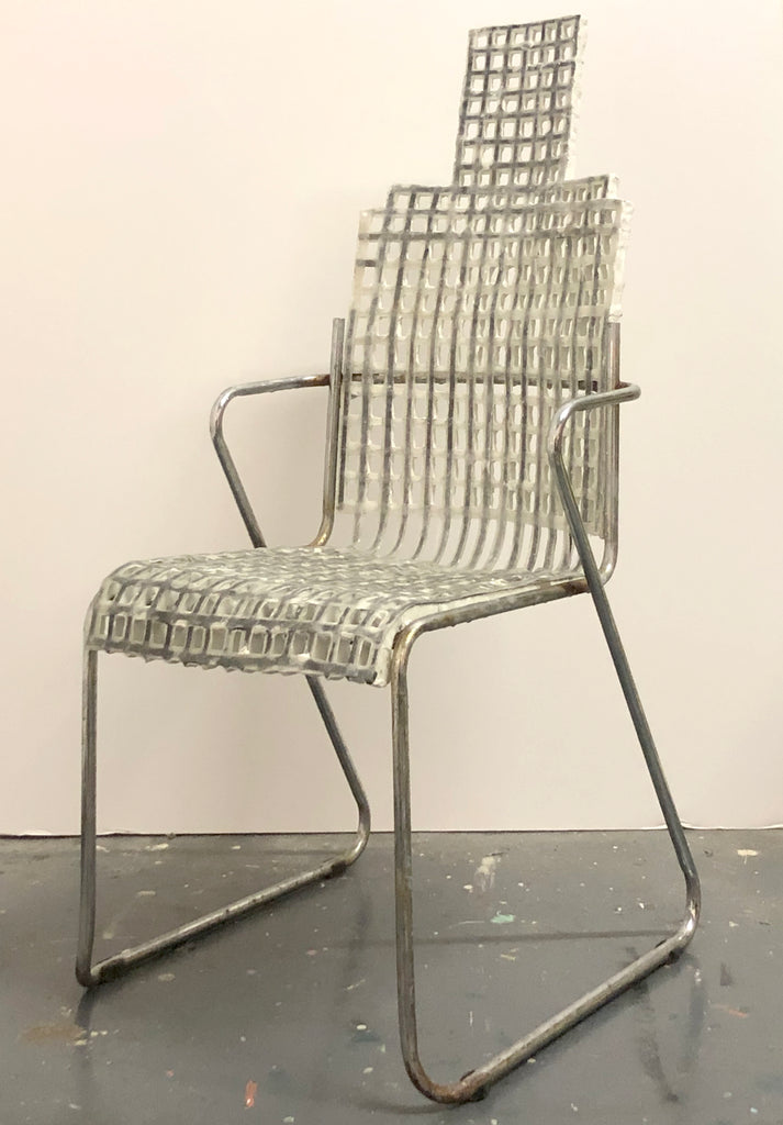 "Corey Escoto, ""Grid Chair"""