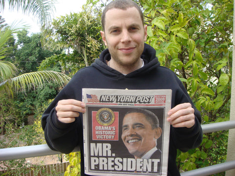 "Shony Rivnay, ""Mr. President (Obama), New York Post, 2009"""