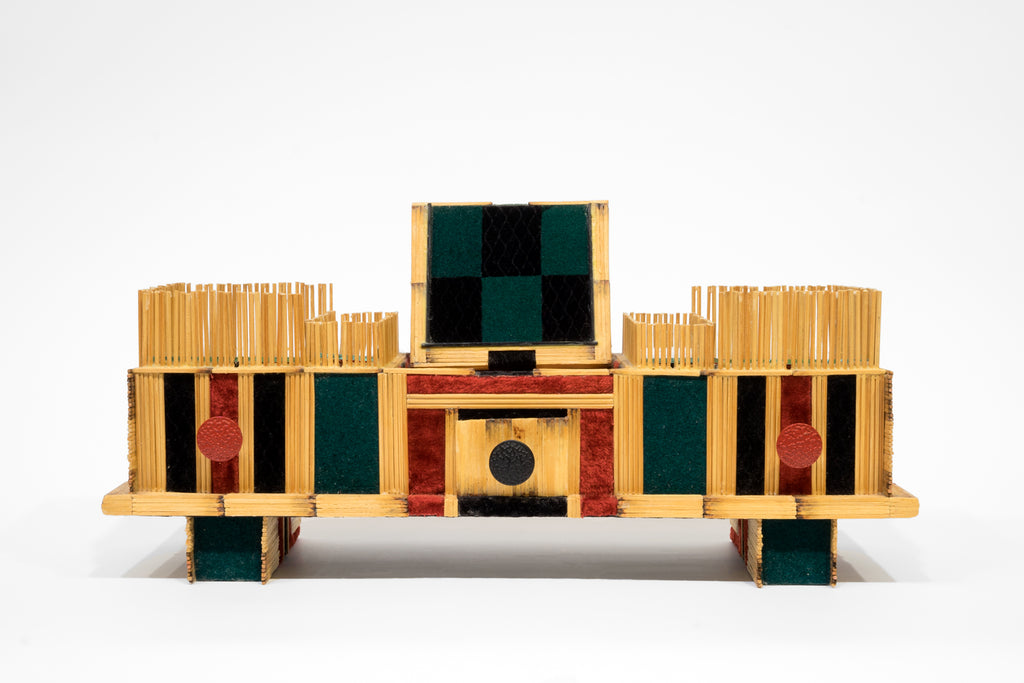 "Roger Robertson, ""Matchstick Display Case"""