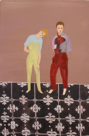 "Jing Qin, ""Tall Boys"" SOLD"