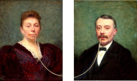 "Blase, ""The Lady And The Tramp (diptych)"""