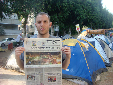 "Shony Rivnay, ""Biggest Demonstration in Israeli History, Haaretz, 2011"""