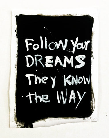 "Alison Woods, ""Follow Dreams"""