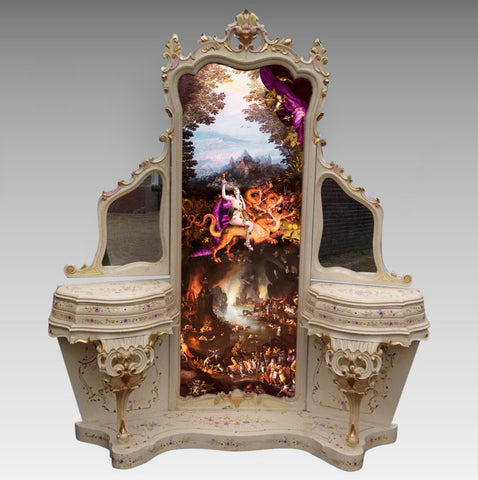 "Anna Cone, ""Babylon Vanity Table"""