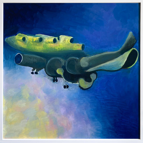 "Anne Spalter, ""Space Flute"" SOLD"