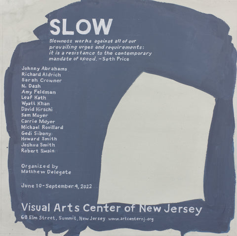 "William Powhida, ""Slow 2022"" SOLD"