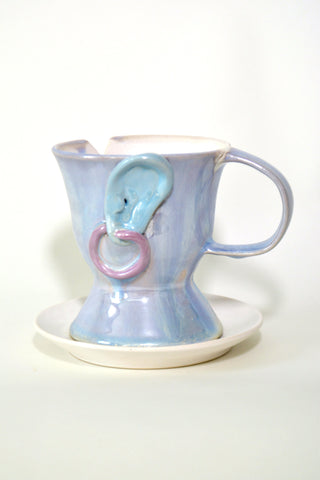 "Jen Dwyer, ""Fancy (Tea Cup no. 7)"""