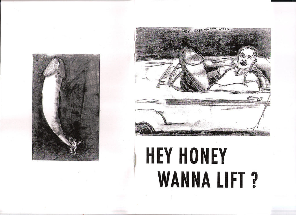 "Jane Dickson, ""Hey Honey Wanna Lift"""