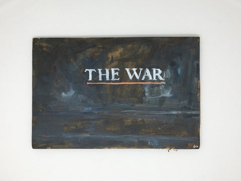 "Max Schumann, ""The War"" SOLD"