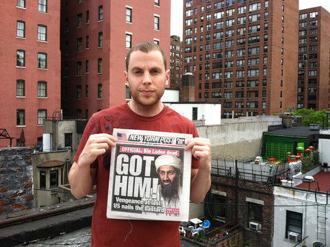 "Shony Rivnay, ""Got Him! (Bin Laden), New York Post, 2011"""