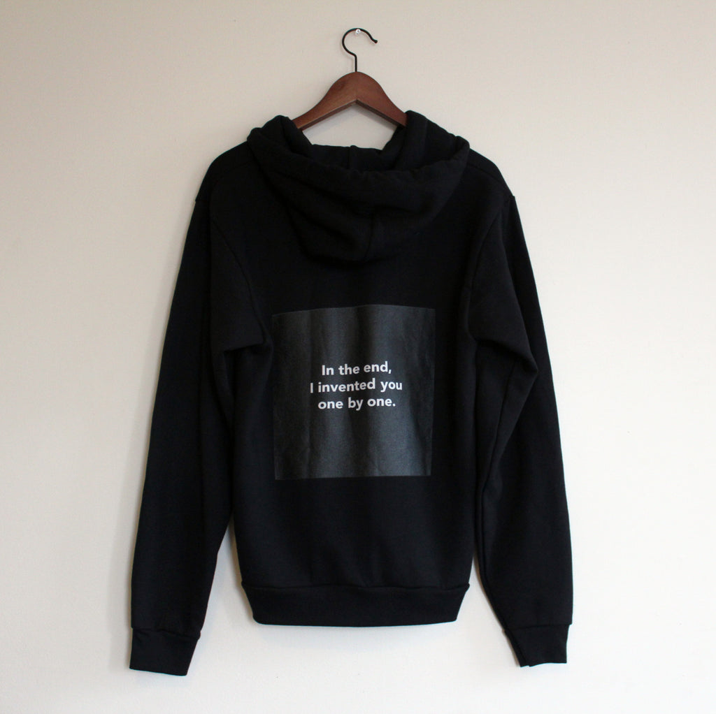 "Chloë Bass, ""The Book of Everyday Instruction, Chapter Eight: Complete upon arrival, Sweatshirt #4"""
