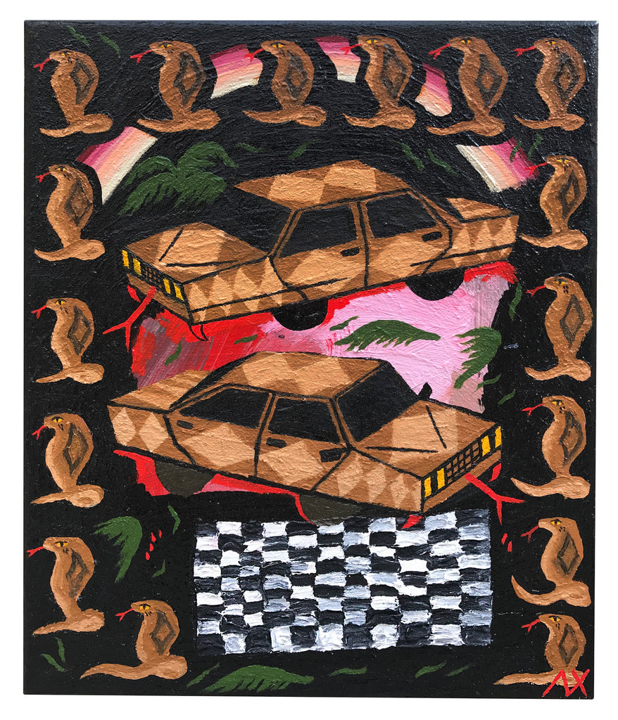 "Alex Xerri, ""Saharan Cobra$"" SOLD"