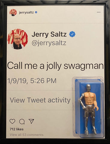 "THE SUCKLORD, ""JERRY SALTZ JOLLY SWAGMAN"""