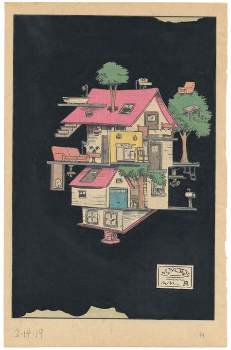 "George Horner, ""Incoherent House (MD Series)"""