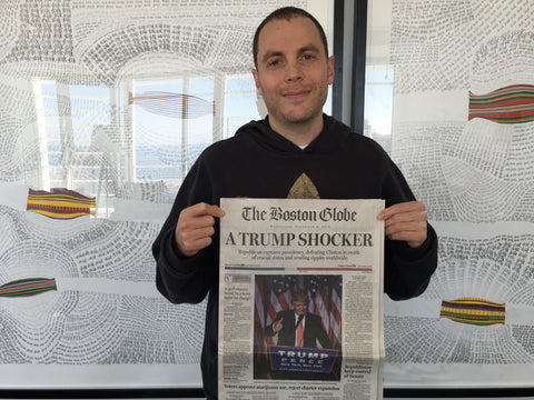 "Shony Rivnay, ""A Trump Shocker, The Boston Globe, 2016"""