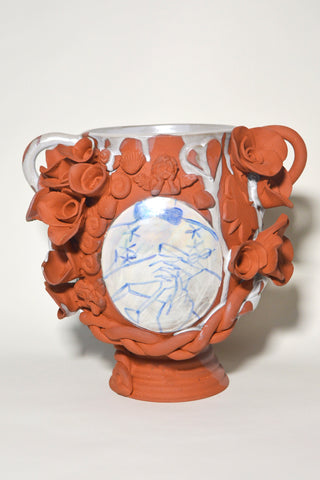 "Jen Dwyer, ""Liquid Therapy (Vase)"" SOLD"