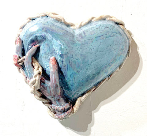 "Jen Dwyer, ""Heart Balloon with a Soft Pressure Point"""