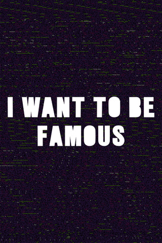 "Jonathan Rosen, ""I Want To Be Famous"""