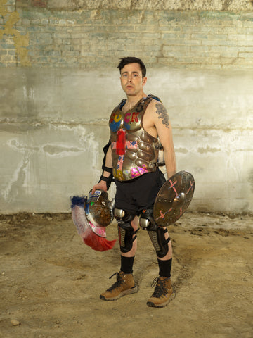"Joshua Liebowitz, ""Mediations, or the End of Cosplay (Based Spartan)"""