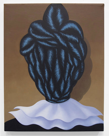 "Julie Tuyet Curtiss, ""Braid Head"" SOLD"