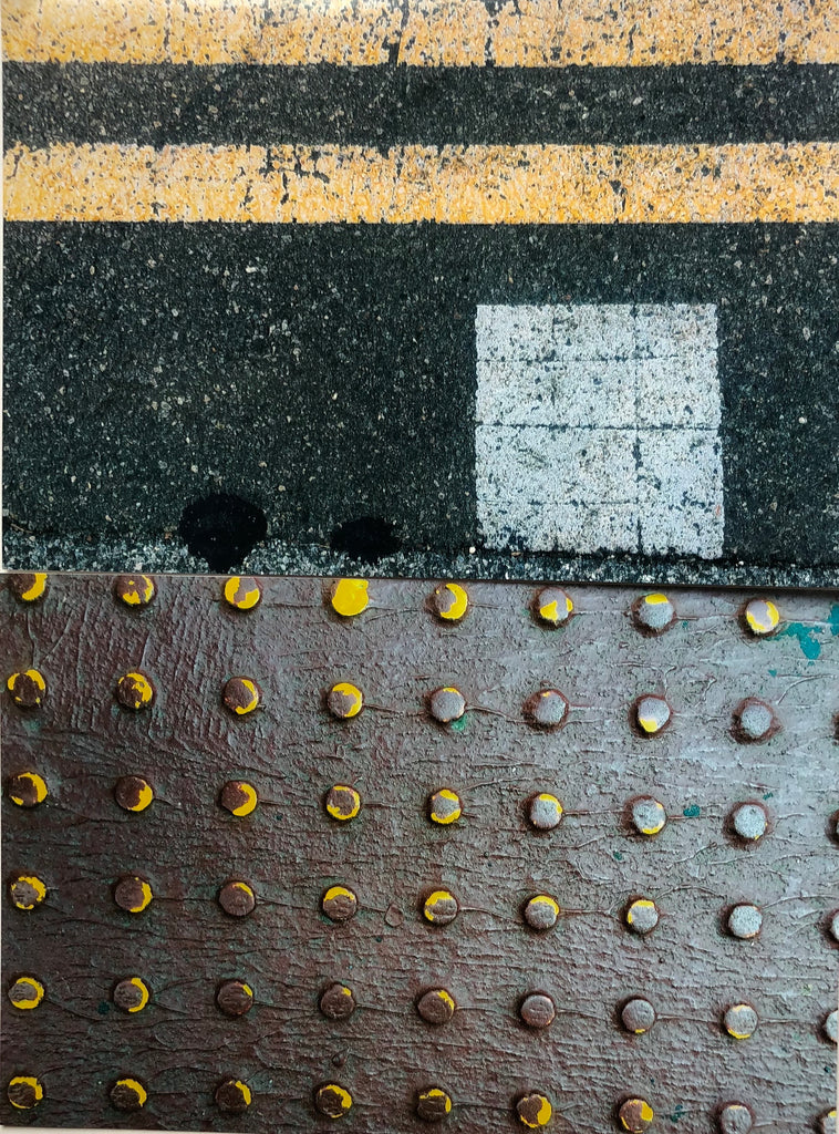 "Pat Place, ""Untitled (Street Markings) (#3)"""
