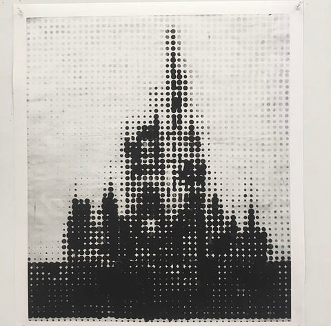 "Shelter Serra, ""The Matrix (Disney Castle Series)"" SOLD"