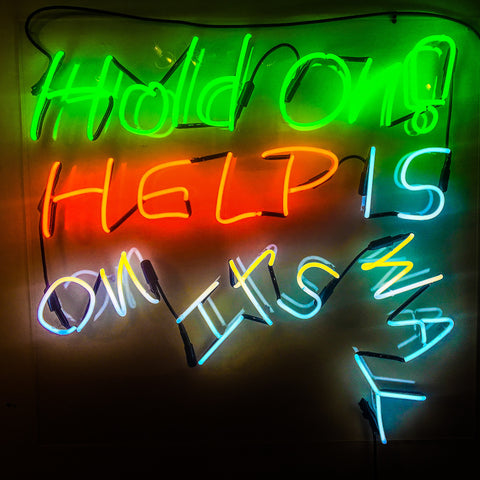 "Anthony Haden-Guest, ""HOLD ON HELP"""