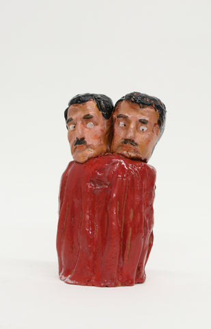"Christian Vargas, ""Siamese Twins (Red)"" SOLD"