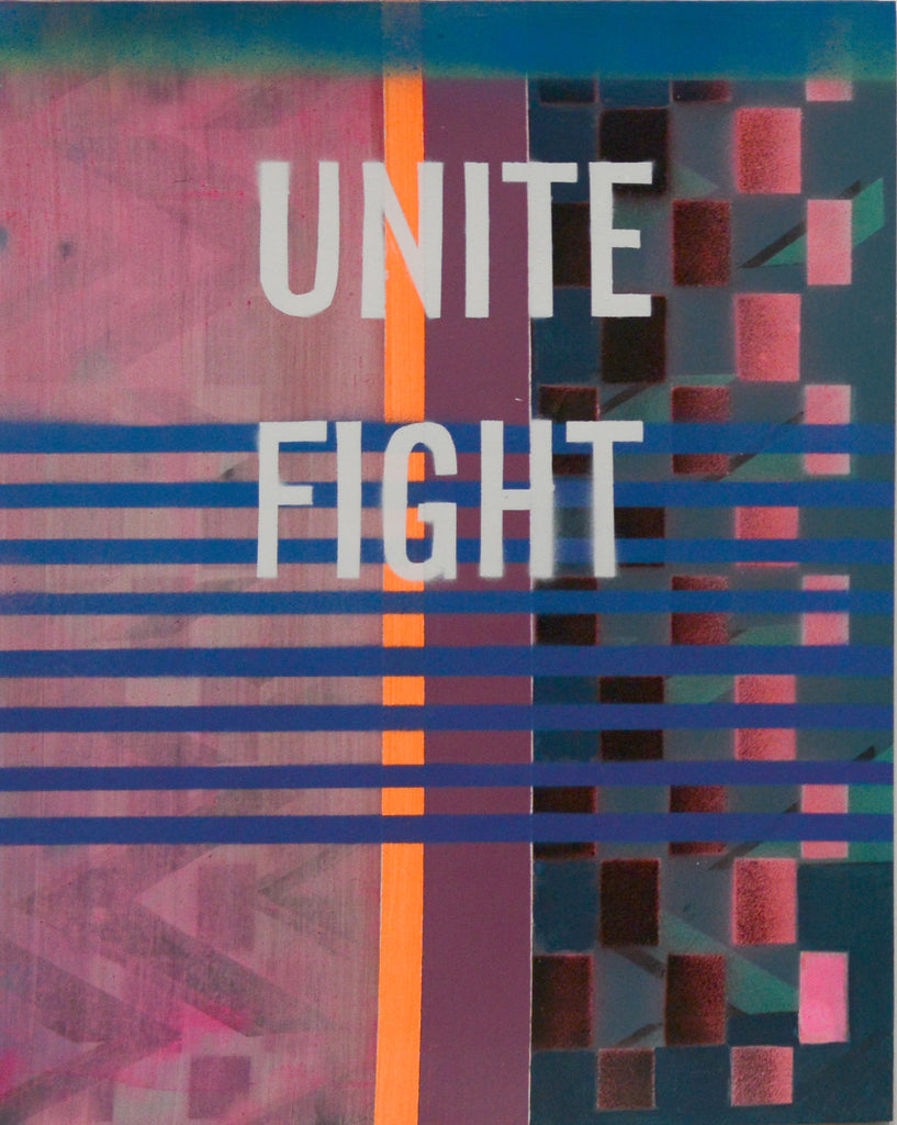"Kristen Schiele, ""Unite Fight"""