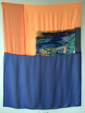 "Lauren Luloff, ""Cassis Sea with Orange"""