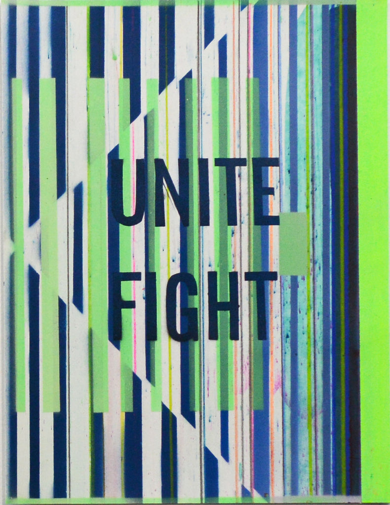 "Kristen Schiele, ""Green Unite Fight"""