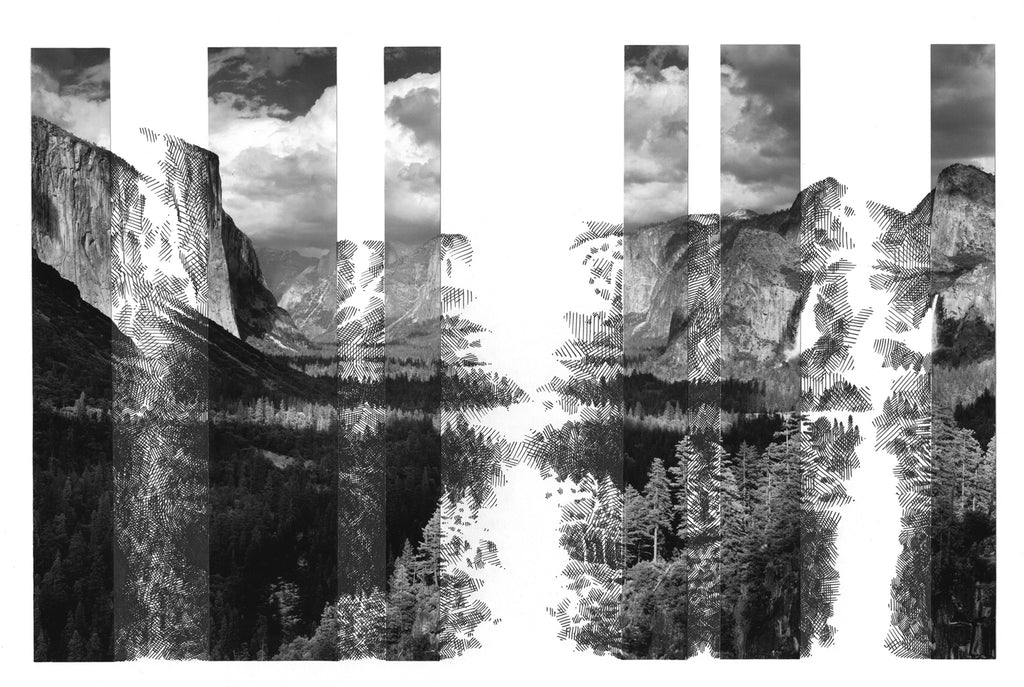 "Harriet Salmon, ""Ansel's Yosemite (Untitled 1)"""