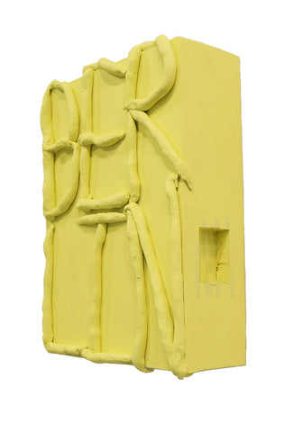 "Anna Berlin, ""Self Portrait (yellow)"""