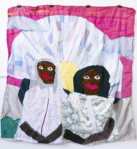"Azikiwe Mohammed, ""Two Ladies Taking A Beach Break"""